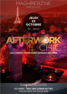 Afterwork chic et Maghrébin After Work