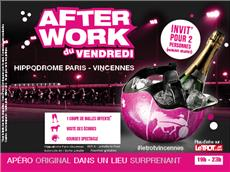 After Work du Vendredi sur l'Hippodrome Paris-Vincennes  After Work