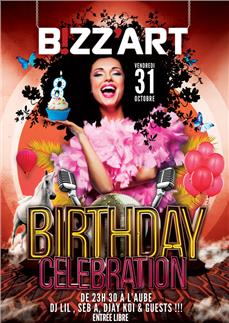 BIZZ'ART BIRTHDAY CELEBRATION - after work - Soirée Clubbing - CityZens