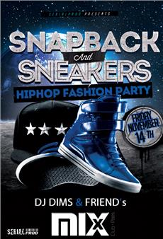 Snapback & sneakers @Mix Club