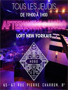 AFTERWORK @ LOFT NEW YORKAIS ( CHAMPS ELYSEES )