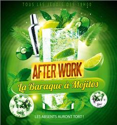 LA BARAQUE A MOJITOS After Work