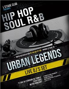 URBAN LEGENDS Soirées & Clubbing