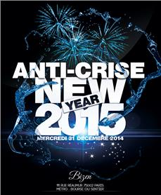 Anti-Crise New Year 2015 - after work - Soirée Clubbing - CityZens