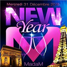 CHAMPS ELYSEES MADAM CLUB PARIS NEW YEAR 2015 Soirées & Clubbing