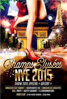 CHAMPS-ELYSEES NEW YEAR 2015