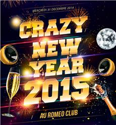 CRAZY NEW YEAR 2015 Soirées & Clubbing