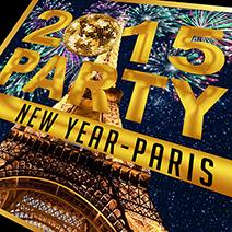 Réveillon 2015 NEW-YEAR Tour Eiffel  - after work - Soirée Clubbing - CityZens