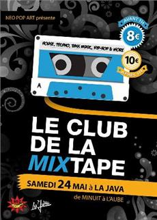 Le Club de la mixtape invite Budju et K-MI à la Java  - after work - Soirée Clubbing - CityZens