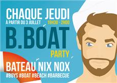 B Boat Party la nouvelle soirée gay à Paris After Work