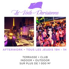 Grand Opening : Afterwork à la Voile Parisienne After Work
