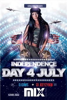 American independence @Mix Club Soirées & Clubbing