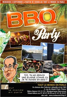 AFTER WORK bbq party sur les toits de paris special caricature et baby foot  After Work