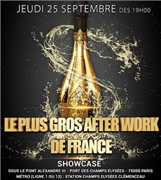 LE PLUS GROS AFTER WORK DE FRANCE au SHOWCASE
