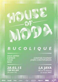 HOUSE OF MODA BUCOLIQUE
