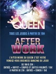 The Queen Club Afterwork party ( Champs Elysees ) After Work