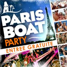 Paris Boat Party : GRATUIT !