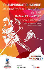 #4 REPUBLIQUE TCHEQUE / CANADA ICE HOCKEY WORLD CHAMPIONSHIP 2017