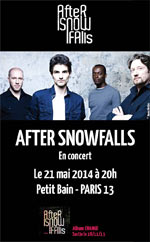 AFTER SNOWFALLS 1ERE PARTIE: JULIA LOSFELT - Concert Paris