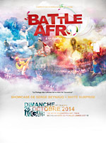 BATTLE AFRO  carrefour