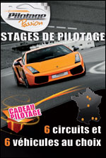 CADEAU PILOTAGE - ILE DE FRANCE Pilotage Passion - after work - Stage sportif Sport mécanique  - CityZens