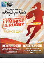 COUPE DU MONDE FEMININE DE RUGBY 1ERE JOURNEE - TERRAIN 3 - after work - Rugby  - CityZens