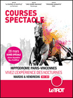 COURSES SPECTACLE NOCTURNES  - after work - Equitation Spectacle équestre Restauration/Repas spectacle  - CityZens