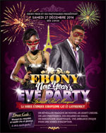 EBONY NEW YEAR'S EVE PARTY  carrefour