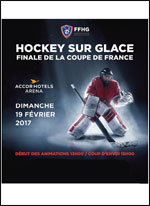FINALE COUPE DE FRANCE DE HOCKEY SUR GLACE