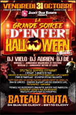 GRANDE SOIREE HALLOWEEN LOVE BOAT  carrefour