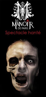 HALLOWEEN DU MANOIR DE PARIS
