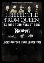I KILLED THE PROM QUEEN + THE BROWNING + INVITES carrefour