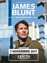 JAMES BLUNT THE AFTERLOVE TOUR carrefour