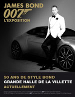 JAMES BOND 007 L'EXPOSITION - exposition - Festival Film  - CityZens