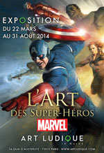 L'ART DES SUPER-HEROS MARVEL  carrefour