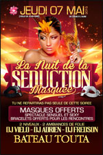 LA NUIT DE LA SEDUCTION MASQUEE  carrefour