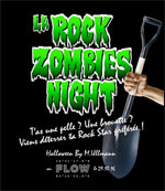 LA ROCK ZOMBIES NIGHT