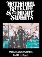 NATHANIEL RATELIFF & THE NIGHT SWEATS + 1ERE PARTIE carrefour