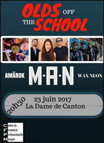 OLDS OFF THE SCHOOL M.A.N. + AMAROK + WAX NEON carrefour