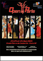 OPEN DE PARIS 2014 DANSE LATINES ET STANDARD - after work - Danse du monde Danse contemporaine Autre sport  - CityZens