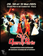 OPEN DE PARIS 2015 COMPETITION INTERNATIONALE DE DANSE