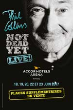 PHIL COLLINS NOT DEAD YET LIVE carrefour