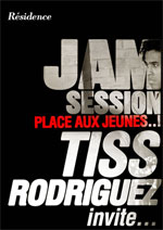 PLACE AUX JEUNES - JAM SESSION TISS RODRIGUEZ INVITE - Concert Paris