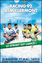 RACING 92 / ASM CLERMONT RUGBY TOP 14