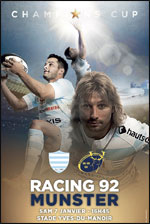 RACING 92 / MUNSTER RUGBY EUROPEAN RUGBY CHAMPIONS CUP