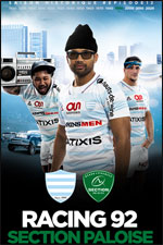 RACING 92 / SECTION PALOISE RUGBY TOP 14