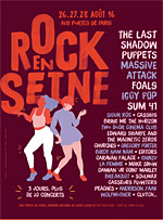 ROCK EN SEINE 2016 - PASS VENDREDI  carrefour