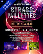 SOIREE KALBASS STRASS ET PAILLETTES BEFORE NEW YEAR carrefour