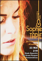 SOPHIE TAPIE #COWGIRL  carrefour