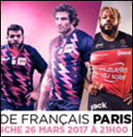 STADE FRANCAIS PARIS / RC TOULON RUGBY TOP 14